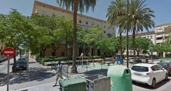 València presenta al veïnat la remodelació de la plaça Mare de Déu del Castell