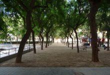 Comencen les obres de remodelació del jardí de la plaça de Manuel Granero