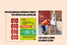 València llança una campanya per fomentar l'ús del servici gratuït de recollida de mobles