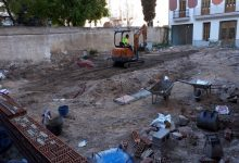 Comencen els treballs d'adequació en la parcel·la del xalet d'Aben al-Abbar