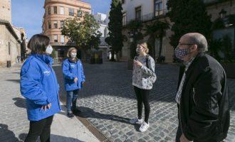 Suben las incidencias registradas por los informadores del Ayuntamiento de Gandia en espacios públicos