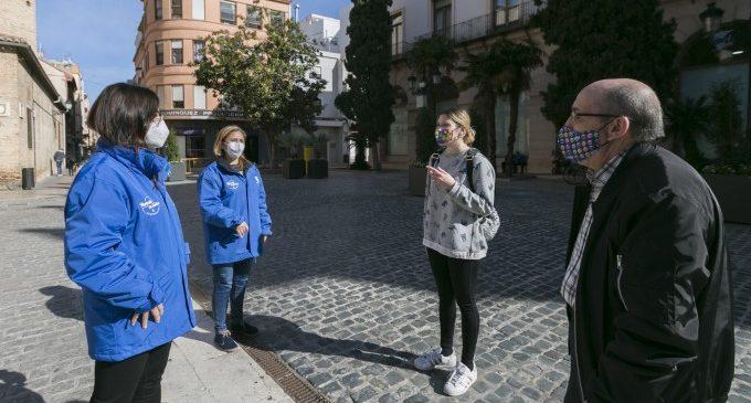 Pugen les incidències  registrades pels informadors de l'Ajuntament de Gandia en espais públics