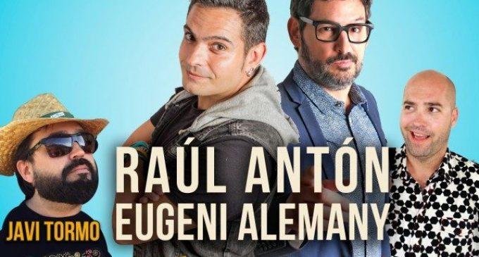 Xàtiva amplia l'espectacle dels còmics Eugeni Alemany i Raúl Antón
