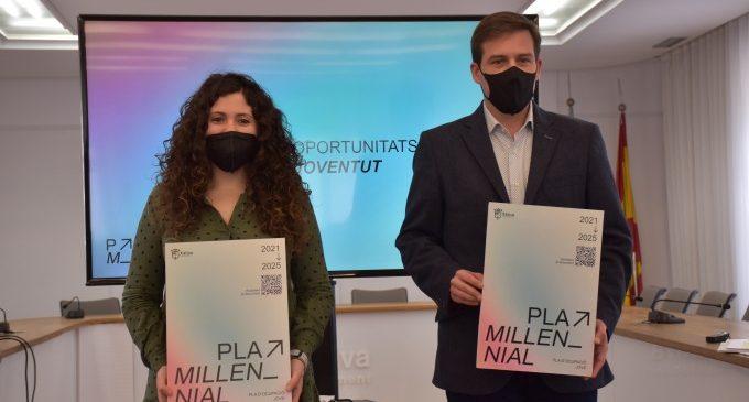 El Plan Millenial para la mejora del empleo joven de Xàtiva contará este 2021 con un presupuesto de 242.300 euros