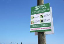"""Bonrepòs i Mirambell impulsa la campanya """"Respectem i cuidem l'Horta"""""""