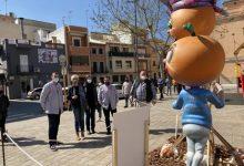 Carcaixent celebra las Fallas con cinco monumentos simbólicos