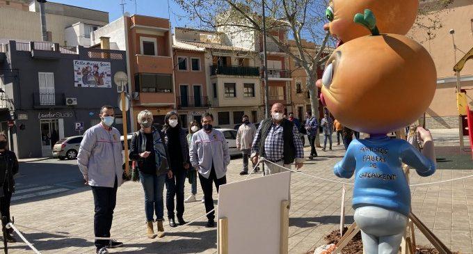 Carcaixent celebra les Falles amb cinc monuments simbòlics