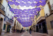 El violeta acoloreix els carrers de Mislata
