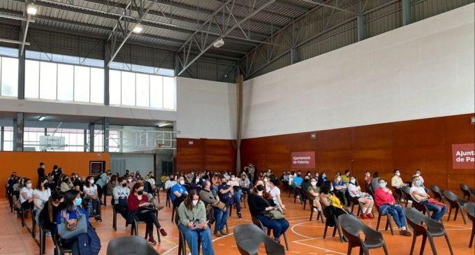 Arranca a Paterna la vacunació del personal docent