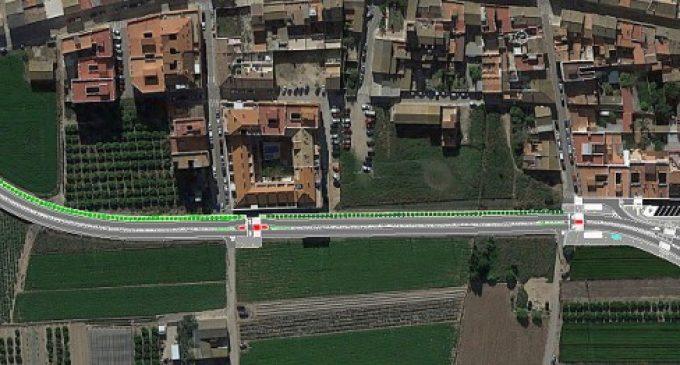 La Diputació consensua amb València i Benifaraig l'obra en la CV-315 per a millorar accessos i pacificar el trànsit