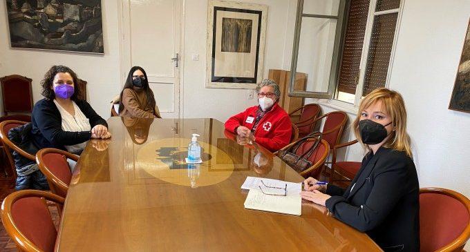 El Ayuntamiento de Xàtiva y Cruz Roja se reúnen para hacer balance del ejercicio 2020 y programar las acciones de este 2021