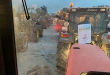 Més d'11 km de retencions en algunes de les principals vies d'accés a València per la tractorada