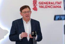 Puig agraeix a l'equip femení del València Basket la seua gesta
