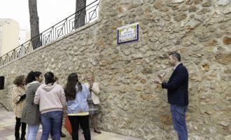 """La Generalitat guardona la incitativa de l'Ajuntament de Cullera de recuperar l'antic nom de l'avinguda """"Caminàs dels Dones"""""""