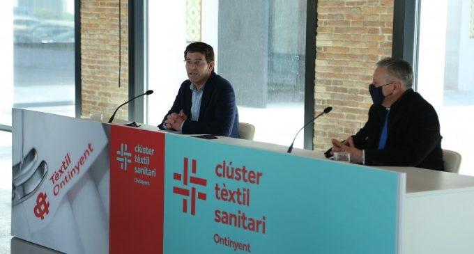 Ontinyent y ATEVAL renuevan su apoyo al Clúster Textil