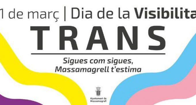 Massamagrell llança una campanya pel Dia Internacional de la Visibilitat Trans