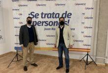 Juan Ramón Adsuara renova el seu càrrec com a president del PP d'Alfafar