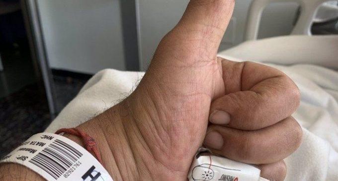 Mata (PSPV) rep l'alta després de patir un problema cardíac