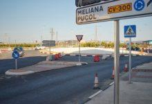 Obres Públiques millora l'accés des de la CV-300 a Foios i Meliana després d'anys de reivindicacions