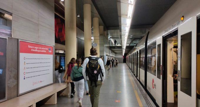 Més de 20 milions d'euros per a continuar completant les connexions de la futura línia 10 de Metrovalencia