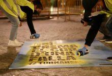 València comença el dia amb les 382 demarcacions pintades en una plantà simbòlica