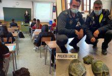 La Policia Local de Massamagrell imparteix xarrades informatives a l'alumnat d'ESO i EFP