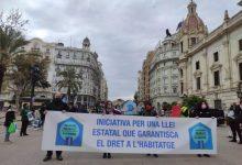 """València se moviliza por una ley que garantice una vivienda """"digna y accesible"""" como """"derecho humano fundamental"""""""