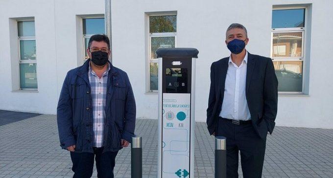 162 ayuntamientos solicitan al Ivace ayudas para instalar puntos de recarga para vehículos eléctricos