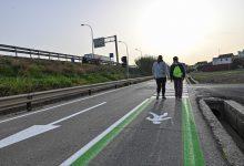 Movilidad Sostenible crea una senda peatonal en Castellar-l'Oliveral