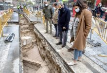 Avancen les obres de l'entorn del Mercat Central i afloren restes de cases dels segles XVI al XIX