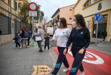 Se recuperan 126 m2 de espacio peatonal en el acceso al colegio Pureza de María – Grao