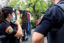 La Policia Local de València reforça la seguretat de mercats ambulants i el rastre