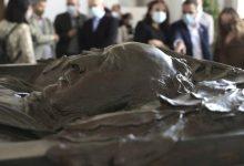 El sarcòfag de Blasco Ibáñez rau al Cementeri General de València 80 anys després
