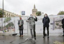 Comencen les obres que transformaran la plaça de la Reina de València