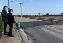 Mobilitat realitza una actuació de pacificació del trànsit en el camí de Carpesa a Montcada