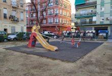 Comencen les obres de remodelació del jardí de la plaça de Calabuig
