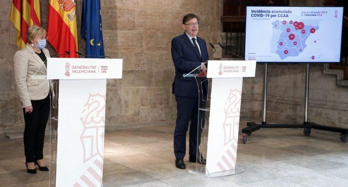 El Consell fixa el full de ruta de la desescalada valenciana mantenint el gruix de les mesures