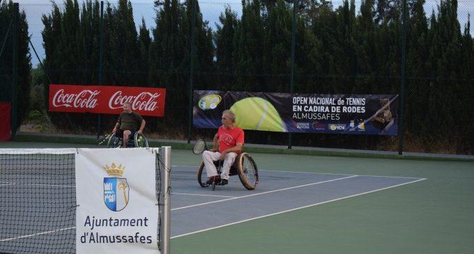 Almussafes acoge esta semana su XXIII Open de Tenis en Silla de Ruedas