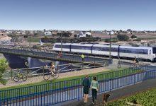 El Barranc del Carraixet comptarà amb dos passos inferiors sota l'L3 de Metrovalencia