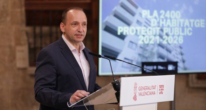 Pla 2400: 294 milions d'euros per a consolidar el dret a un habitatge digne