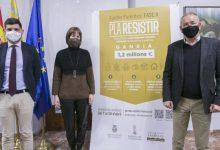 Gandia llança la segona fase d'ajudes Parèntesi del Pla Resistir per valor d'1,2 milions d'euros
