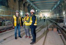 Instal·lats els primers carrils en el tram subterrani de la Línia 10 de Metrovalencia