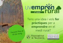 La Diputació i la Universitat de València promouen pràctiques per a emprenedors en entorns rurals