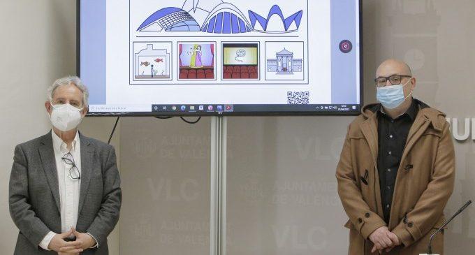 Visit València elabora un mapa de la ciutat amb pictogrames per facilitar l'experiència turística a les persones amb autisme