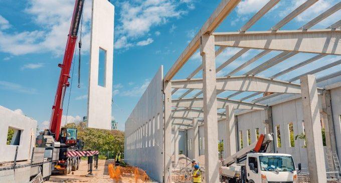 La Generalitat executa les obres de construcció del dipòsit provisional de material mòbil de la Línia 10 de Metrovalencia