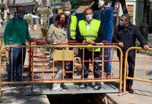 Continua la renovació de la xarxa d'aigua en l'avinguda Maria Cristina després de les troballes arqueològiques