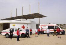 València posa en funcionament el servici d'assistència sanitària, salvament i socorrisme a les platges urbanes per a Setmana Santa