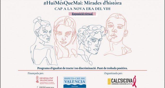 Diversitat de la Diputació participa en '#HuiMésQueMai: Mirades d'història. Cap a la nova era del VIH'