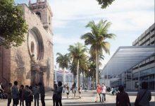 La remodelació de la plaça de Bruges i el Mercat finalitzarà a l'abril de 2022