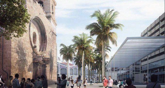 La remodelación de la plaza de Brujas y el Mercado finalizará en abril de 2022